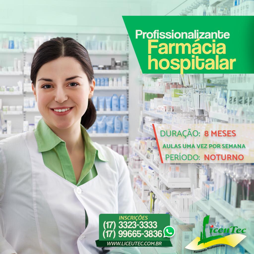 Cursos farmacia hospitalar
