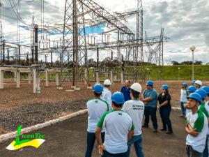 Parceria entre Furnas e LiceuTec realiza Visita Técnica no Porto Colômbia. 1