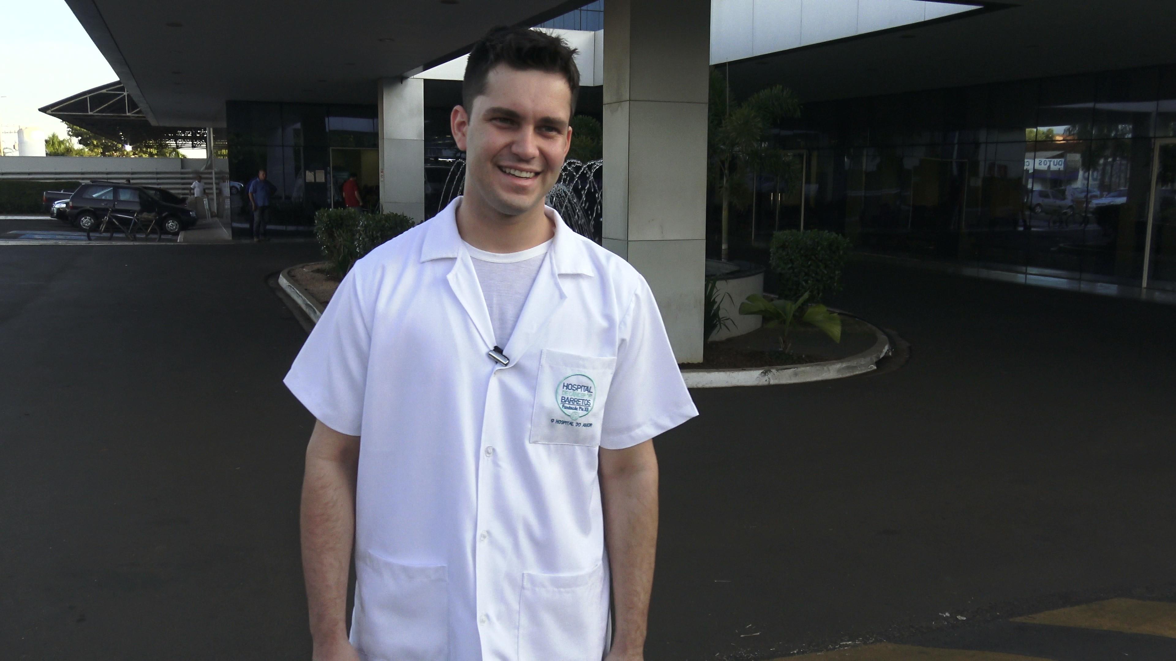 Testemunhos dos alunos do LiceuTec 2018, aluno de Enfermagem.