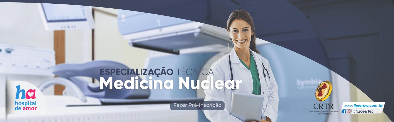 Medicina Nuclear - Especialização Técnica em Barretos, SP