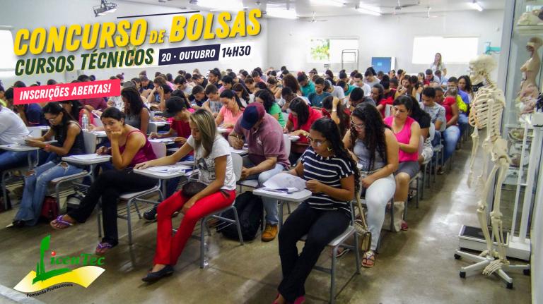 Concurso de bolsas oferecerá 12 bolsas de 100% e 28 bolsas de 50%