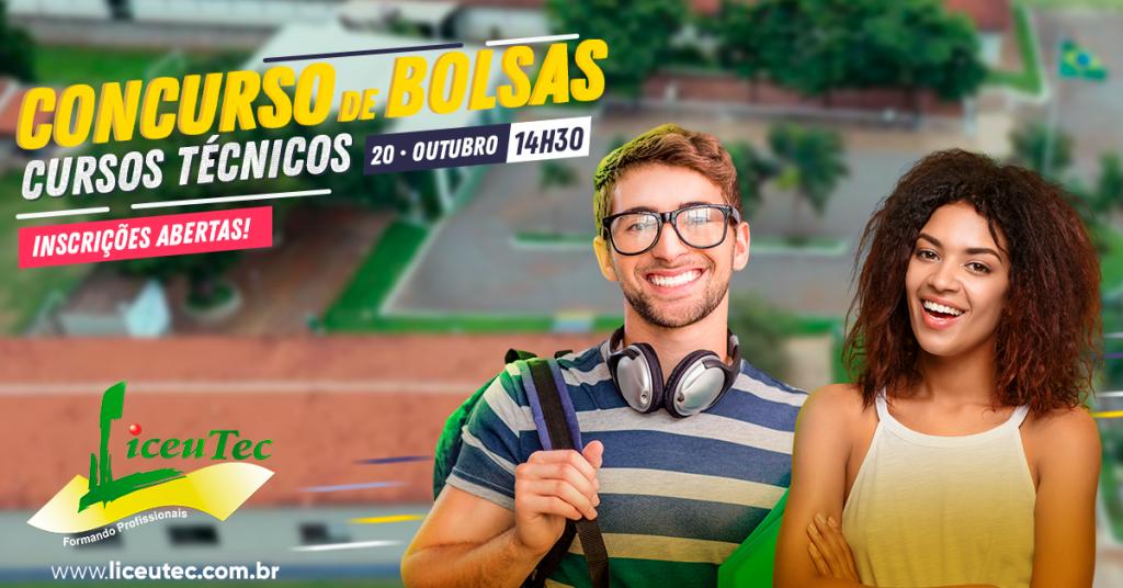 Concurso de Bolsas - Cursos Técnicos 2019 - 1 - LiceuTec