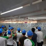 Alunos visitam, painel de controle Usina Hidrelétrica Marimbondo, visita técnica - LiceuTec