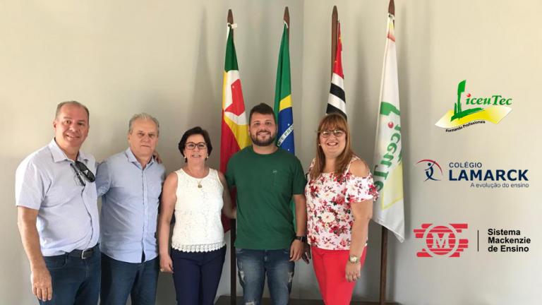 Diretores do Colégio Lamarck de Rio Preto visitam o LiceuTec