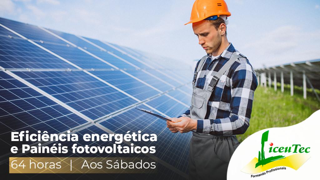 Curso livre de Eficiência energética e painéis fotovoltaicos