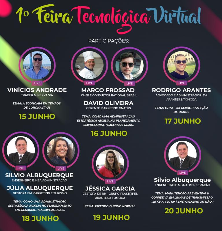 Read more about the article 1ª Feira Tecnológica Virtual